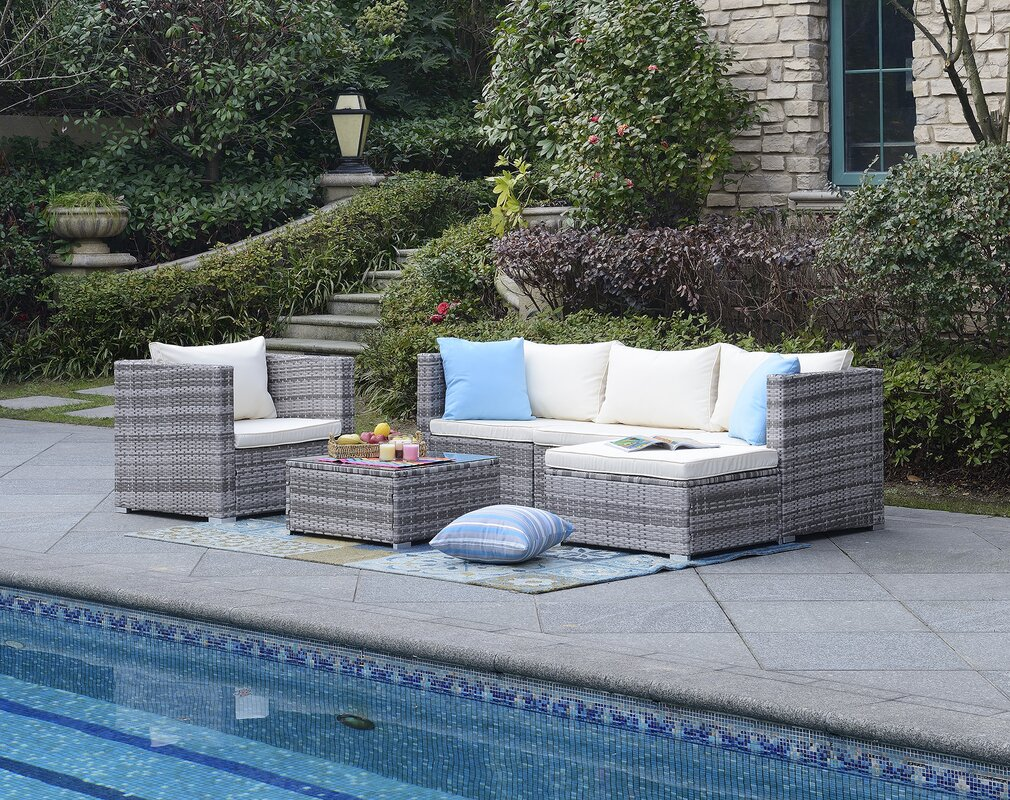 Greenwich 6 Piece Deep Seating Group