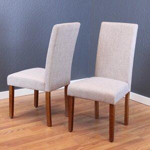 walnut kitchen & dining chairs you'll love   wayfair