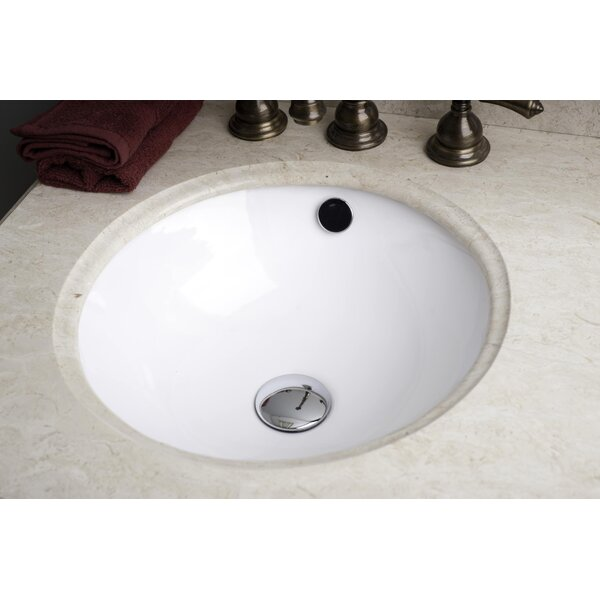 American Imaginations American Imaginations Circular Undermount Bathroom  Sink U0026 Reviews | Wayfair.ca
