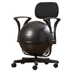 Ergonomic Office Ball Chair Wayfair - Ball chairs for office