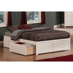 ahoghill storage platform bed - High Platform Bed Frame