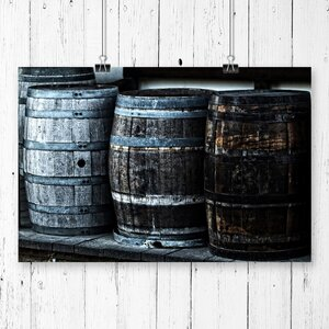Distillery Barrel Beer Keg Photographic Print