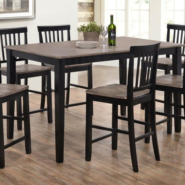Rustic Kitchen Tables And Chairs: Union Rustic Stafford Counter Height Dining Table By