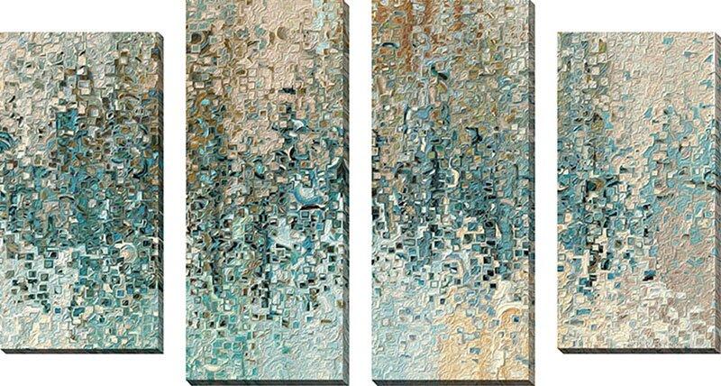 Latitude Run Revealed Framed 4 Piece Set On Canvas