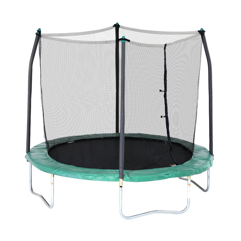 Trampoline Sale 55 8 11 12 13 14 15 17 X15 Oval: Skywalker 8' Round Trampoline With Safety Enclosure