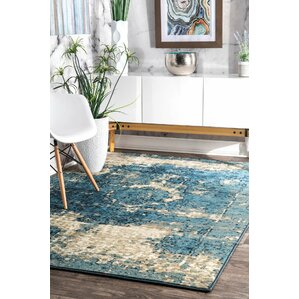 High Quality Stewiacke Blue Area Rug