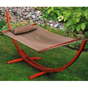 Caribbean Polyester Hammock With Stand