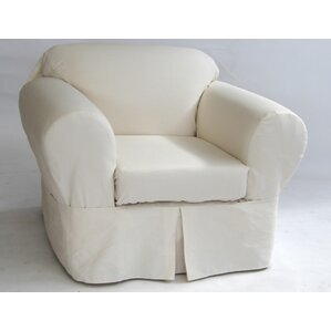 Armchair Skirted Slipcover
