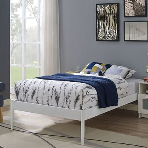 queen bed frames youll love wayfair - Bed Frames And Mattresses