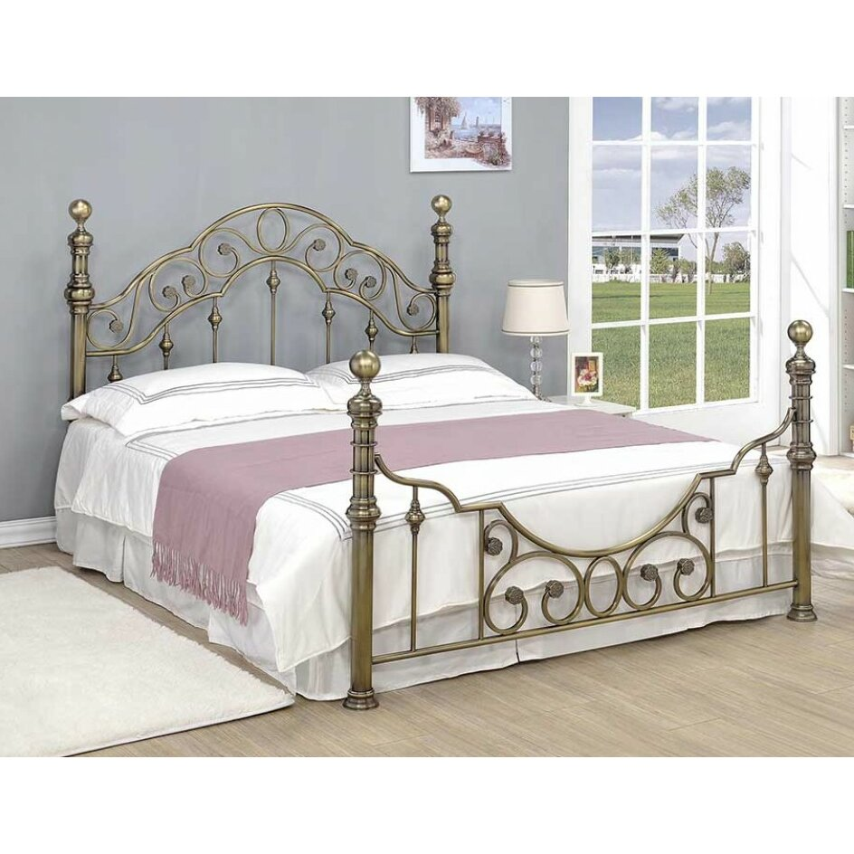 Home loft concept cabrito bed frame for Concept beds