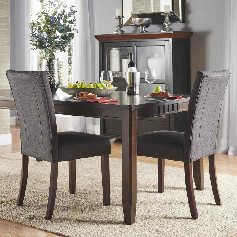 Three Posts Dyer Side Chair  Reviews Wayfair - Dining room side chairs