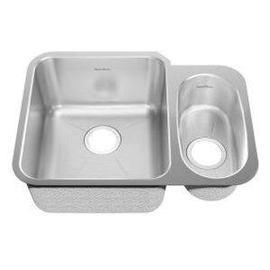 24 88 X 18 75 Undermount Double Combination Bowl Kitchen Sink