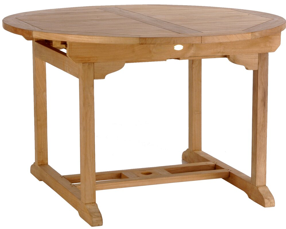 Teak extension dining table in excellent condition very clean and - Default_name