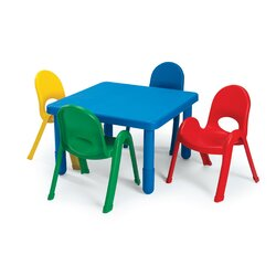 Angeles Kids Table and Chair Set Reviews Wayfair