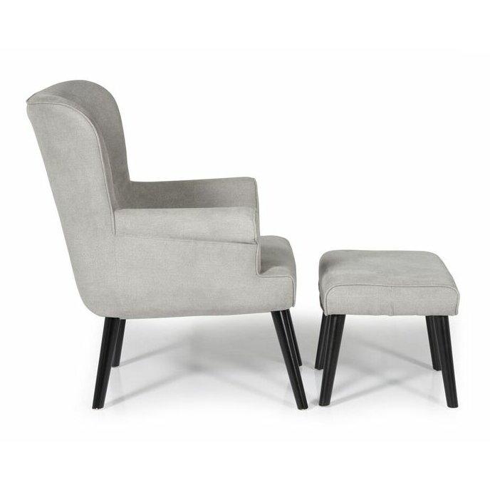 urban facettes einzelsessel palen mit hocker bewertungen. Black Bedroom Furniture Sets. Home Design Ideas