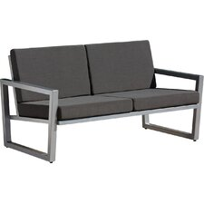aron loveseat with cushions