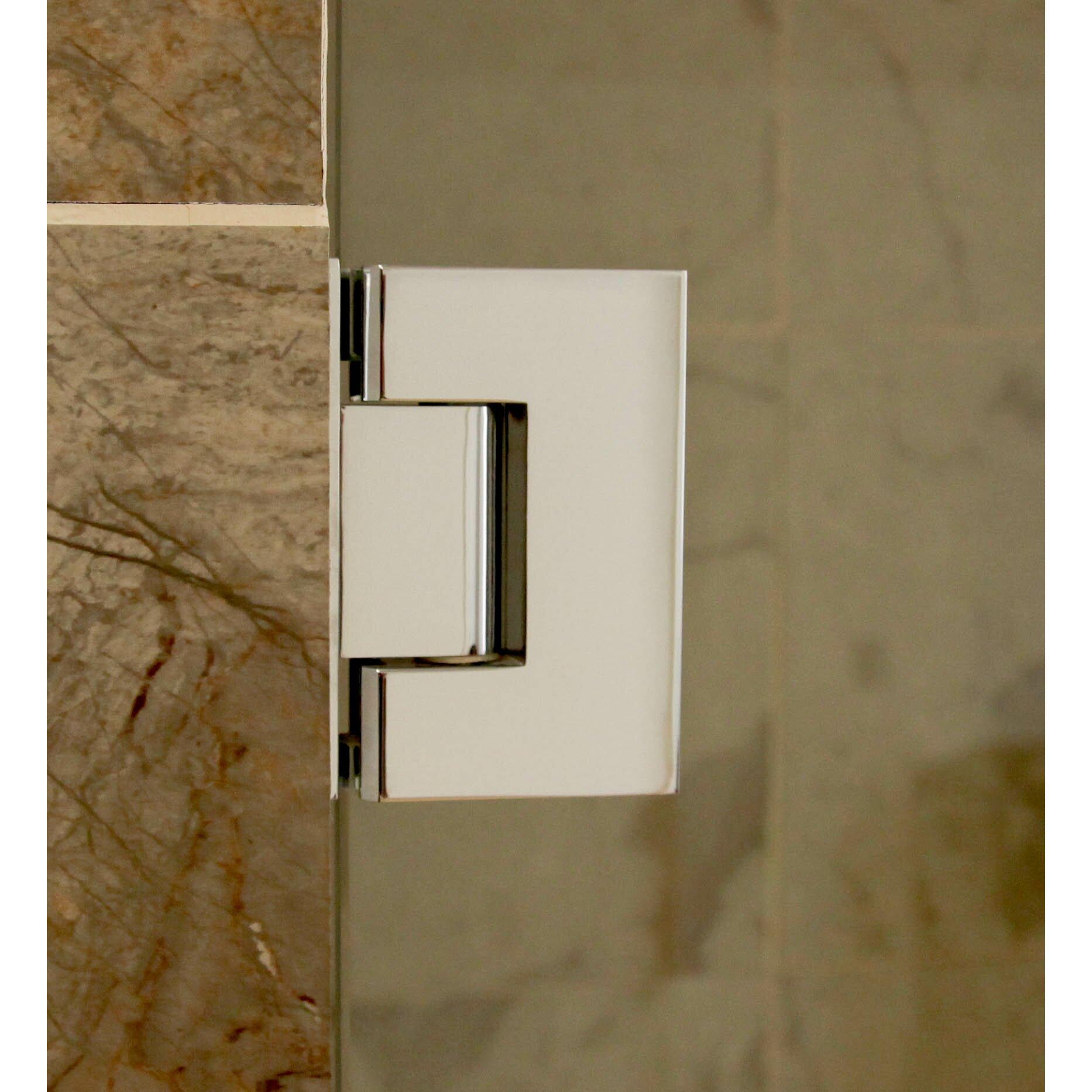 Glass Warehouse 40 Quot X 78 Quot Hinged Frameless Shower Door
