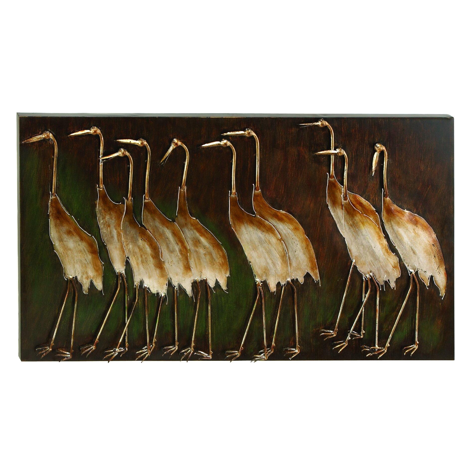 metal bird wall dcor - Bird Wall Decor