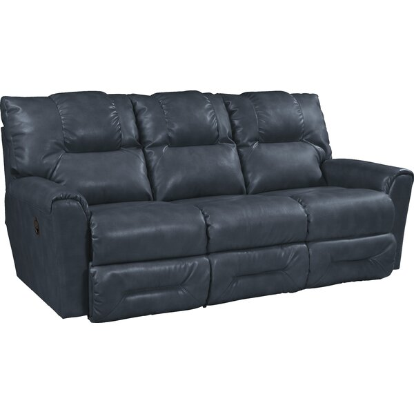 La Z Boy Easton Leather Reclining Sofa U0026 Reviews | Wayfair