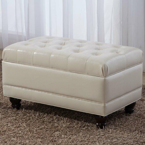 Noya Usa Castilian Upholstered Storage Bedroom Bench: NOYA USA Castillian Upholstered Storage Dining Bench