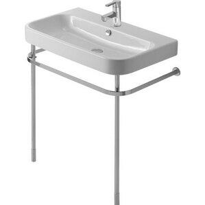 "Happy D Metal 30"" Console Bathroom Sink Console Table"