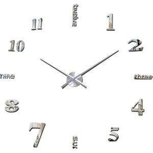 Oversized 120cm Luxury DIY Wall Clock