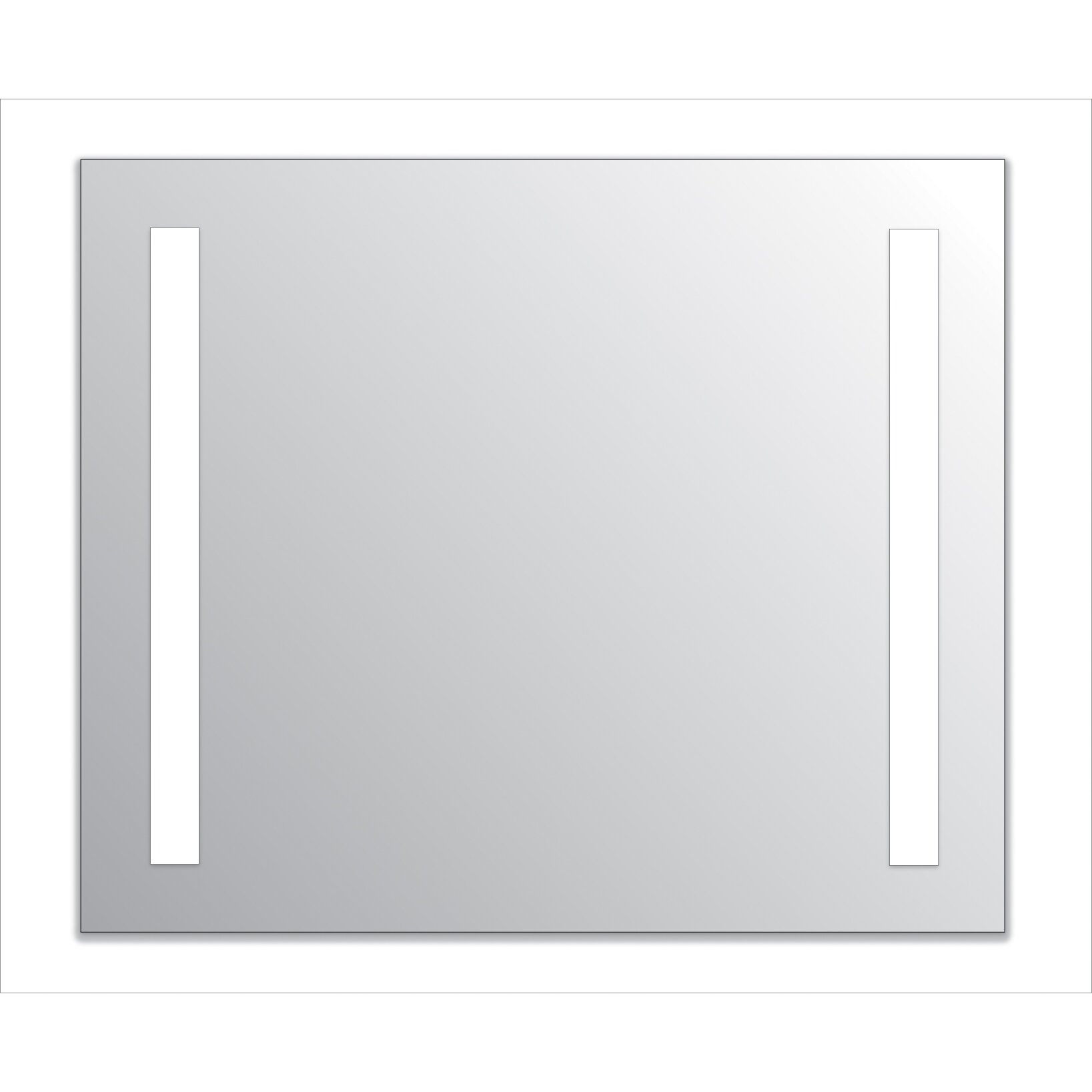 Wade Logan Argos  Light LED LG Mirror  Reviews Wayfair -  fort lauderdale bathroom mirror light