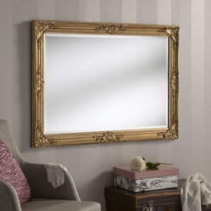 Florence Gold Wall Mirror