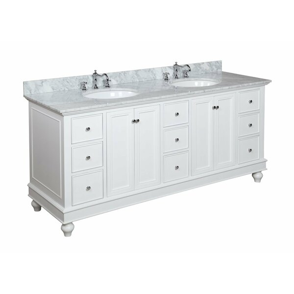 kbc bella 72 double bathroom vanity reviews wayfair