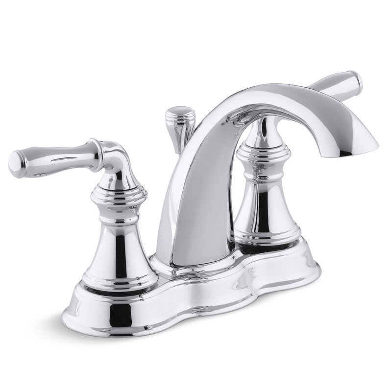 Kohler Devonshire Centerset Bathroom Sink Faucet Reviews Wayfair