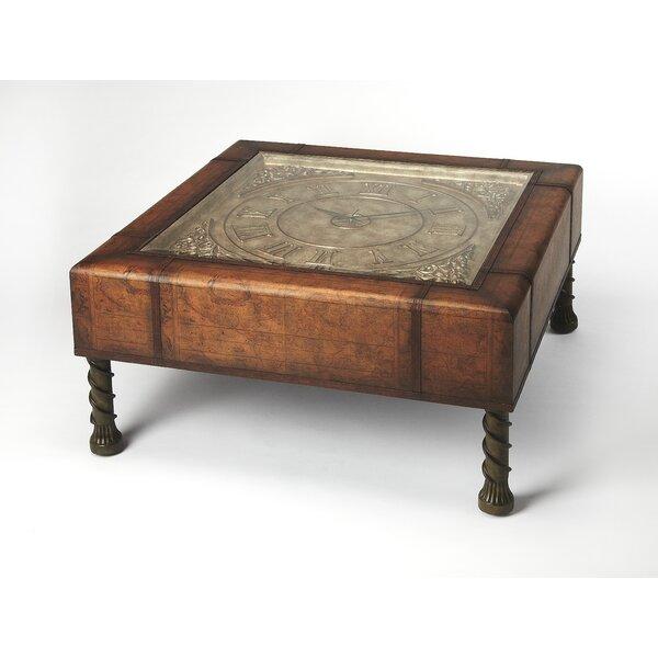butler heritage clock coffee table & reviews   wayfair