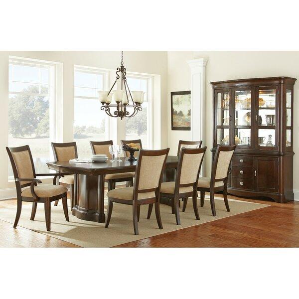 Noir Extending Dining Table 4 Upholstered Chairs Noir extending