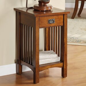 oakcrest mission style end table