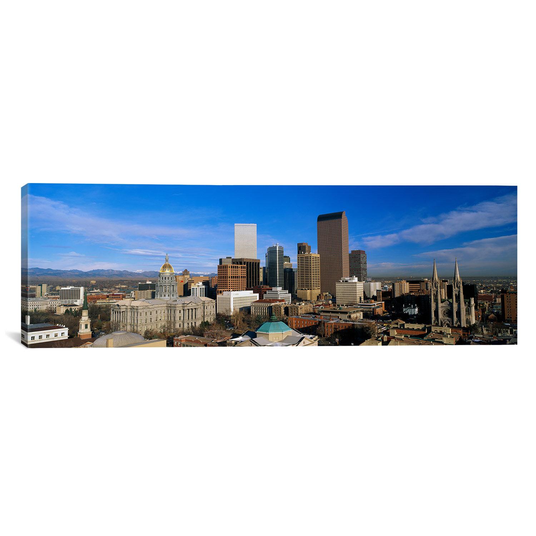 East Urban Home Denver Colorado graphic Print on