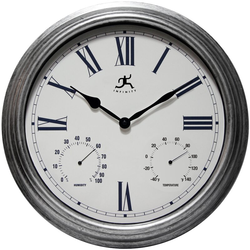 Large Outdoor Clock Part - 48: Outdoor Designs
