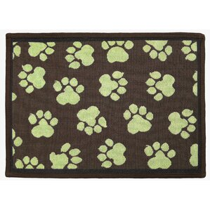 Woodland / Green World Paws Tapestry Area Rug
