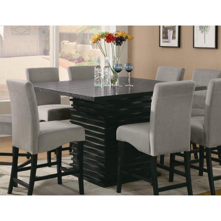 Wade Logan Bob Counter Height Dining Table & Reviews | Wayfair