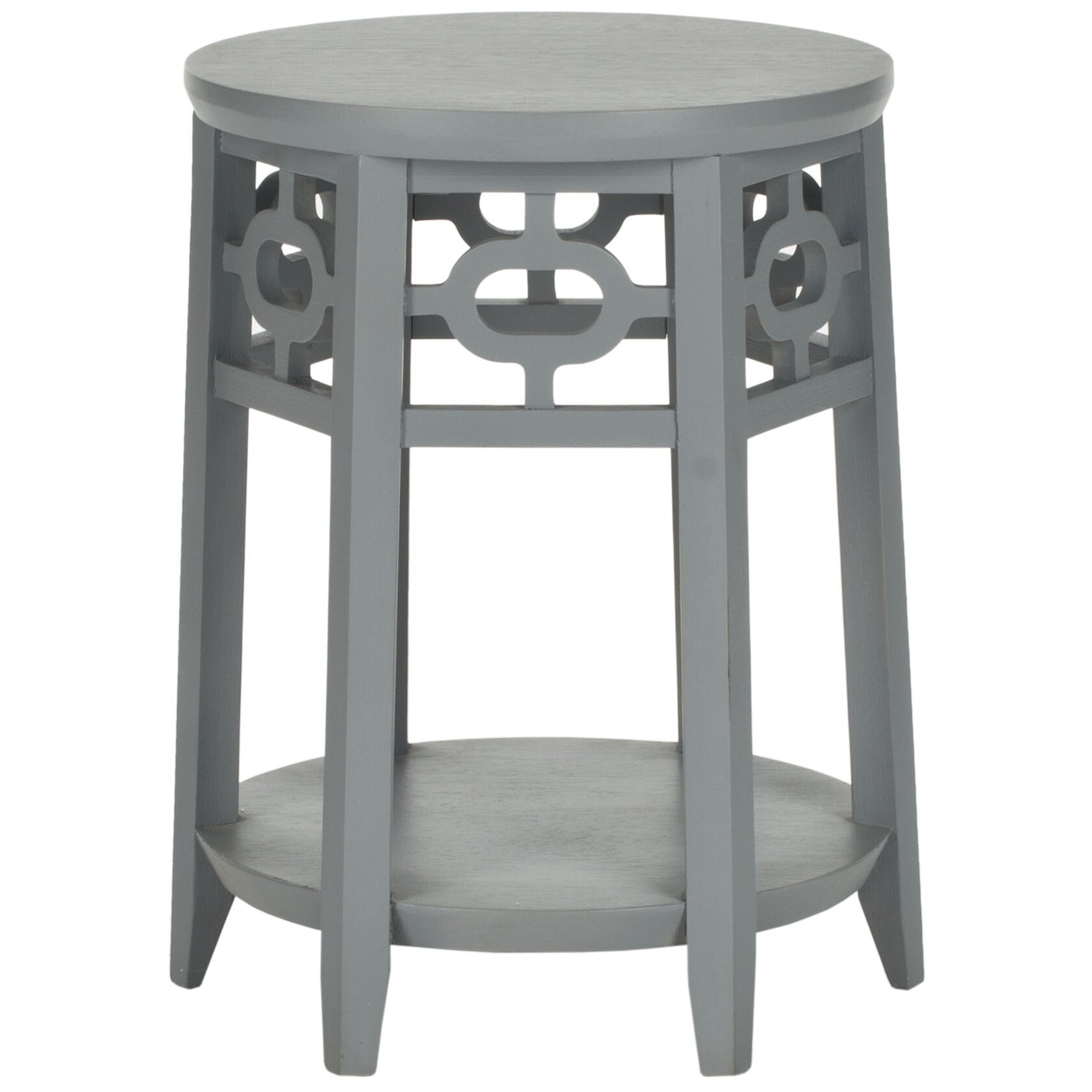 Safavieh adela end table reviews wayfair for Regulation 85 table a