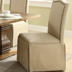 skirted dining chair | wayfair