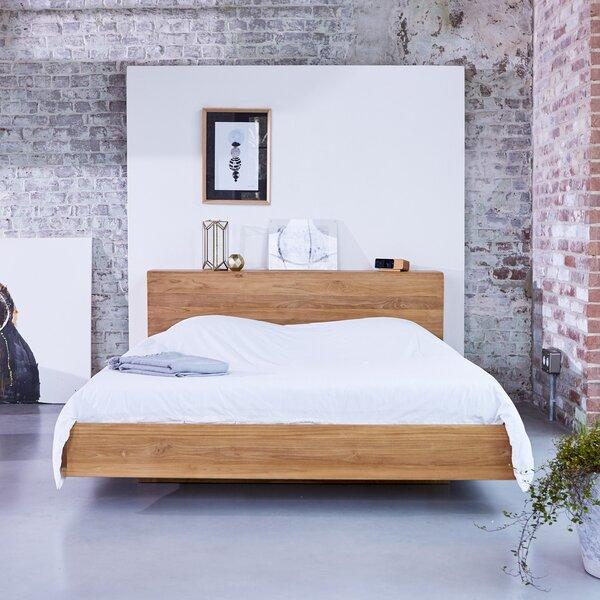 tikamoon flat european king bed frame wayfaircouk - European Bed Frame