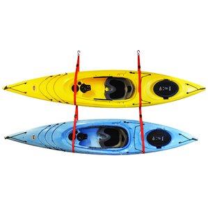 Double Kayak Ceiling/Wall Mounted Storage Rack