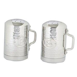 Old Dutch Brunetti Stainless Steel Salt & Pepper Shakers