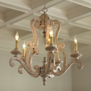 Knudtson 5-Light Candle-Style Chandelier