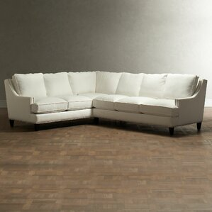 """Lydia 121"""" Down Blend Sectional"""