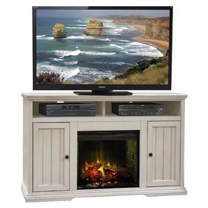 Clinton Media Console & Electric Fireplace