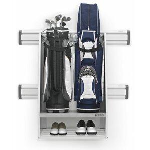 2-Bag Emerson Golf Caddy Garage Wall Storage