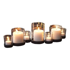 7-Piece Emery Indoor/Outdoor Candleholder Set