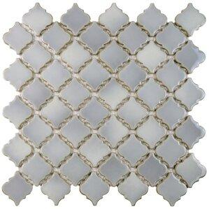 """Penny 2"""" x 2.25"""" Mosaic Porcelain Tile"""