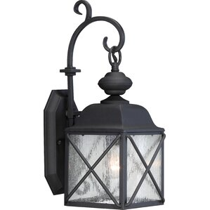Benson 1-Light Outdoor Wall Lantern