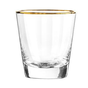 Almira Double Old Fashioned Glass (Set of 4)